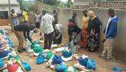 Über 200 Familien erhalten Lebensmittel